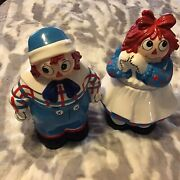 Raggy Ann And Andy Cookie Jars