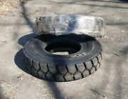 Qty 2 Premium Wide Trac Forklift Tires 11.00-20 16 Ply New Made In Usa Ship Free