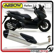 Arrow Reflex 2.0 Full Exhaust With Homologated Header For Honda Forza 125 2015/