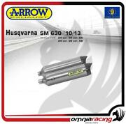 Arrow Pair Exhausts Offroad Thunder Titanium Approved Husqvarna Sm 630 10/13