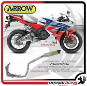 Arrow Full Exhaust System Competition Titanium For Honda Cbr 600 Rr Abs 13/16