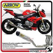 Arrow Full Exhaust System Competition Full Titanium For Bmw S1000r 2014/2016