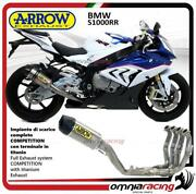 Arrow Full Exhaust System Competition Full Titanium For Bmw S1000rr 2015/2016