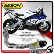Arrow Full Exhaust System Competition Evo Full Titanium For Bmw S1000rr 2015 15/