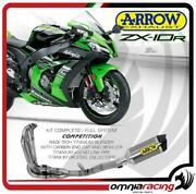 Arrow Full Exhaust System Competition Full Titanium For Kawasaki Zx10r2011/2015