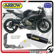 Arrow Full Exhaust Indy Race Carbon Fibre Homologated For Honda Cbr1000rr 12/13