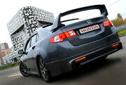 Rear Wing Composite Spoiler Mugen Style For Honda Accord 8 / Acura Tsx 2008-2014