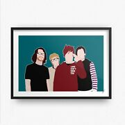 Fall Out Boy Inspired Wall Art Print / Poster Mania Save Rock And Roll Wentz