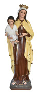 Our Lady Of Mount Carmel Blessed Virgin Mother Mary 53 Inch Statue Figurine