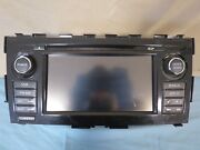✅ 14 15 Nissan Altima Xm Radio Cd Aux Stereo Gps Info Display W/ Amplifier Oem