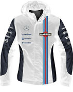 Mercedes-benz Williams Martini Racing Team 2-in-1 Jacket - Male And Female Options