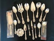 16 Rare Serving Pcs Francis I By Reed And Barton Sterling Silver Flatware
