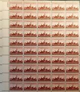 Mid-century Landmarks Stamps Us 6-full Sheets 143 Collectorand039svalue