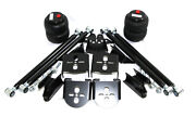 Weld On Triangulated Air Ride Mount Bracket 2.75axleand2500lb Air Bags And4link Kit