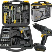 Litheli 20v Cordless Drill Driver Kit A 1300ma Battery 77 Pieces Power Drill Set