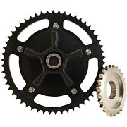 Trask 530 Chain Drive Conversion Cush Kit W/ Front Sprocket Harley Flh/t