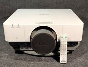 Sony Vpl-fh500 Wuxga Projector W/ Remote Control Lens Cover. Only 472 Lamp Hrs