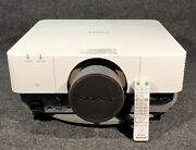 Sony Vpl-fh500 Wuxga Projector W/ Remote Control, Lens Cover. Only 285 Lamp Hrs