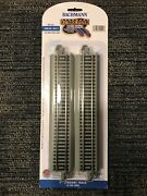 Bachmann E-z Track Ho 9 Straight 4 Pack Nickle Silver Roadbed Ns Bac44511 New