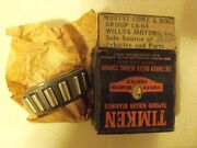 Nos Transfer Case Output Shaft Bearing Cone 72-79 Willys And Jeep 933737
