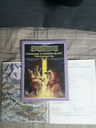 Adandd Forgotten Realms - Gateway To Ravens Bluff, The Living City + Map - Nm