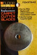 Carpet Cutter Blades Replacement 45 Mm Cutters And Bigelow Style Cut Quilts Carpet