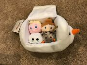 Disney Store Frozen Olaf Tsum Tsum Bag Elsa, Ana, Sven, Snoogie New With Tag