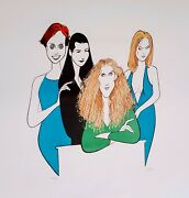Sex In The City By Al Hirschfeld. Very Rare Color S/n Lithograph