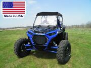 Hard Windshield And Roof For Rzr Xp Turbo S - Canopy - Soft Top - Heavy Duty