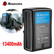 190w 13400mah V Mount Li-ion Battery For Sony Camcorder Arri / Red Series Camera