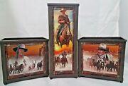 John Wayne American Legend Candle Collection Bradford Exchange Limited Edition