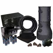 10and039 X 35and039 Pvc Liner Pond Free Matrixblox Savio Kit 10000 Gph Pump Wpspvcpmsb70