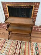 Baker Furniture 2-tier Mahogany Side Table Or Nightstand Circa 1950s