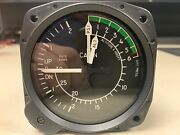 """United Instruments Cabin-alt/diff Press/vertical Speed Aircraft Indicator 3 1/8"""""""