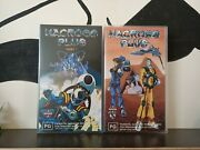 Macross Plus New And Sealed Part 1 And 3 Vhs Australian Release Pal Siren/manga