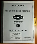 John Deere Scotts 42 Snowthrower Mcs 46 Blade For Lawn Tractor Parts Manual 1/02
