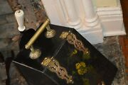 Victorian Fireplace Coal Scuttle And Shovel
