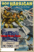 Hop Harrigan Americaand039s Ace Of The Airways 1946 Reproduction Us Action Poster