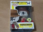 Funko Pop Movies Watchmen Rorschach 24 Bloody Exclusive Sdcc 2013 Le 480