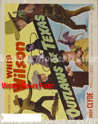 Outlaws Of Texas 1950 Repro Reproduction Print Us Western Poster Thomas Carr