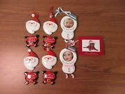 Personalized And Photo Frame Ornaments Baby / Santa
