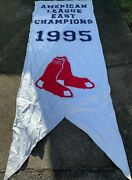 Boston Red Sox Fenway Park 1995 American League East Champions Banner