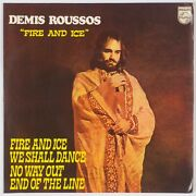 Demis Roussos Fire And Ice 7andrdquo Ep 33rpm Philips Rare Brazil Folk