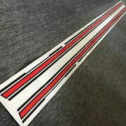 Datsun 1200 Gx5 Accent Body Side Line Stripe Coupe For Nissan B110 Sunny Gx Gl