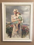 Pino Angel From Above Embellished Canvas 30x22 36/95 Artist Proof C/w Frame