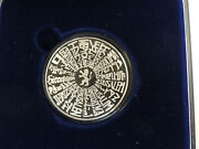 Israel 1996 This Is Jerusalem State Medal 50mm 60g Pure Silver + Coa + Box