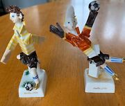 Rare Limited Edition Meissen 2006 Fifa World Cup Porcelain Figurines
