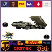 Hg P803a Upgraded Light Sound 1/12 2.4g 8x8 Ep Rc Car For Us Army Truck Military