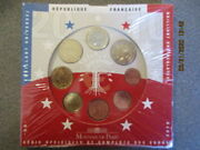 2010 France The Official Brilliant Uncirculated Sealed Euro Coin Set Super Rare