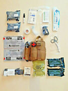 New Tan Medical First Aid Kit Ifak Condor Emt Light Pouch - Fully Stocked